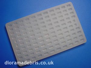 "1:24 Scale 4"" Wide Setts (Cobblestones) Mould (1240074)"